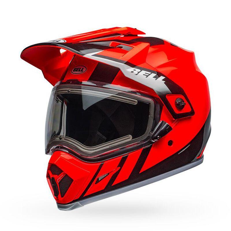 MX-9 Adventure Snow MIPS - Electric Shield