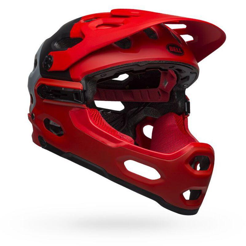 Matte Black Bell Super 2 Super 2R Bike Helmet Replacement Chin Bar Large