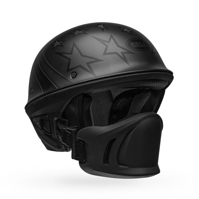Type Bell Style Rogue Motorcycle Half Helmet 100/% Authentic Dot Certified