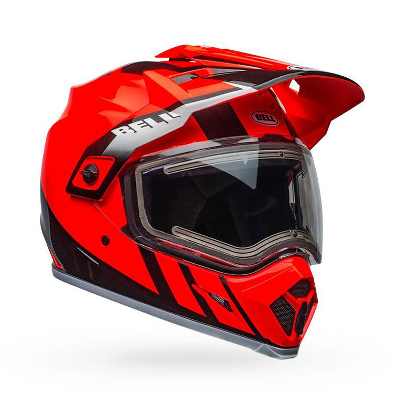 MX-9 Adventure Snow MIPS - Electric Shield