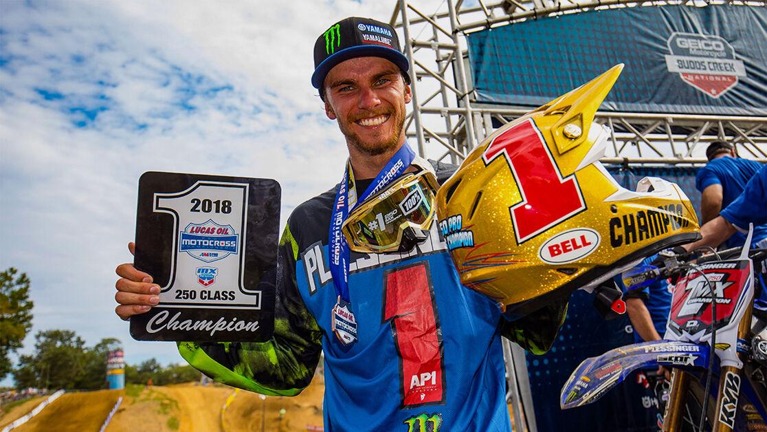 2018 AMA Pro Motocross Champion: Aaron Plessinger