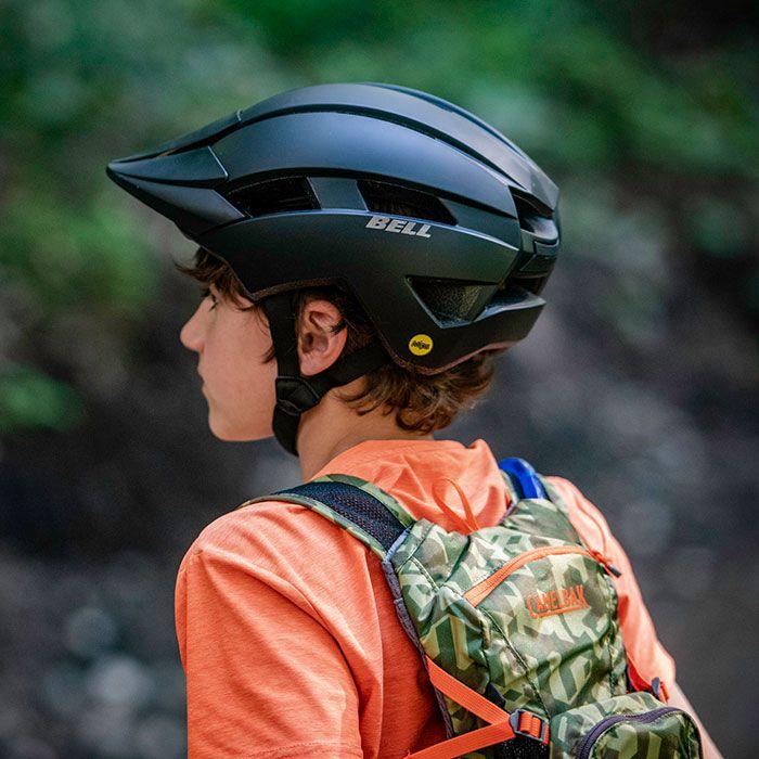 Bell Sidetrack II Helmet Wht Stars UY