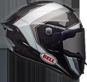 Bell Race Star Flex Sector Gloss White/Titanium Helmet