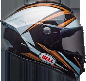 Bell Star MIPS Torsion Gloss Copper/White/Black Helmet