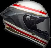Bell Race Star Flex RSD Formula Gloss/Matte Red/White/Carbon Helmet