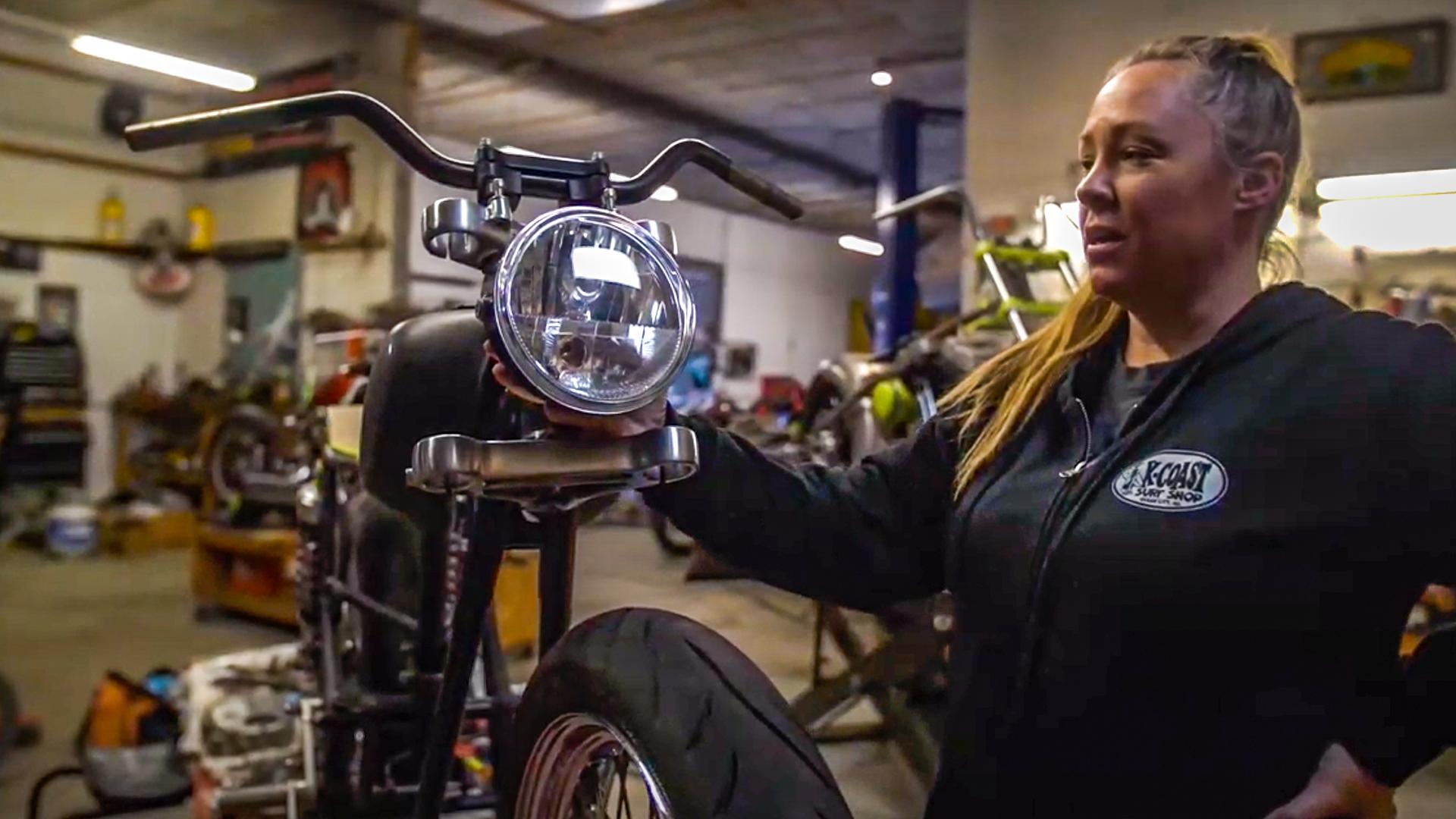 Full-Time Mom, Part-Time Bike Builder